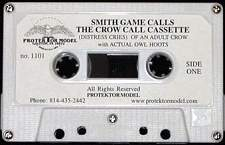 Smith Game Calls Crow Calling With Owl Hoots Cassette