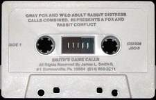 Smith Game Calls Gray Fox & Wild Rabbit Distress Calls Cassette