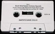 Smith Game Calls Adult Wild Rabbit Distress Squeals Cassette