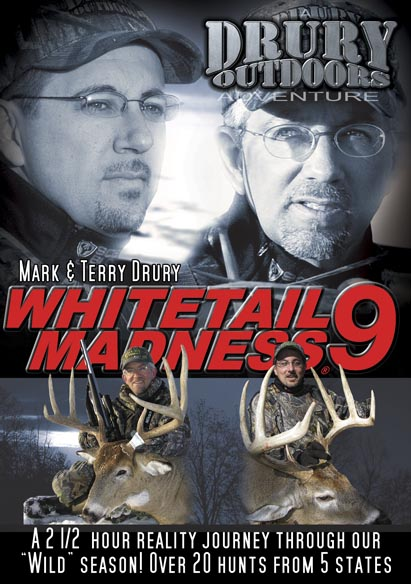 Drury Outdoors Whitetail Madness 9 DVD