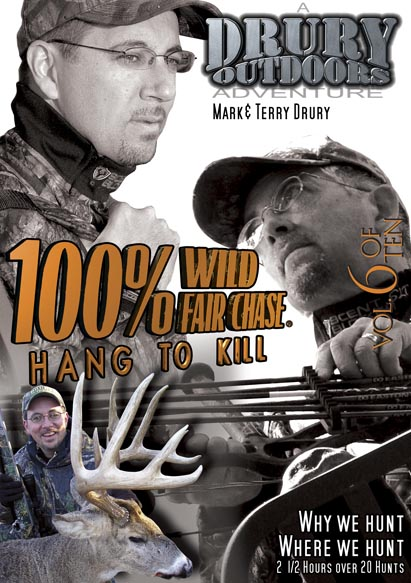 Drury Outdoors 100% Wild Vol. 6: Hang to Kill DVD
