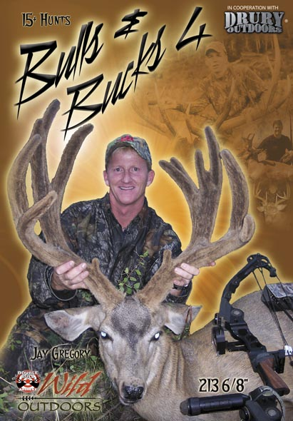 Drury Outdoors Bulls & Bucks 4 DVD