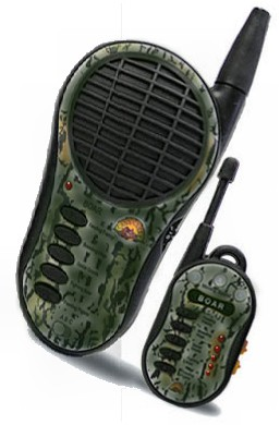 Nomad MX4 Wild Boar & Hog Call w/Wireless Remote