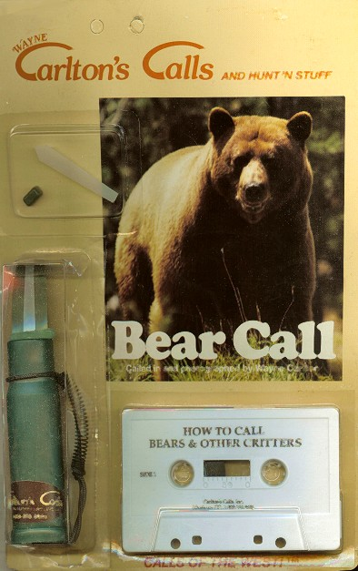 Johnny Stewart Bear Call & Cassette