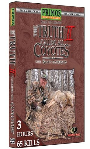 Primos The Truth 2 Calling All Coyotes w/Randy Anderson DVD