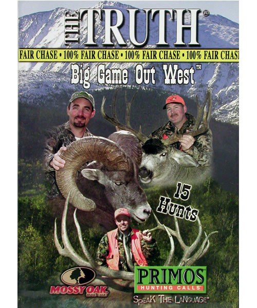Primos Big Game Out West DVD