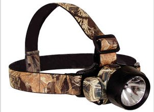 Primos LED/Krypton Camo Headlamp