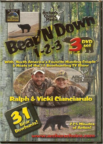 Archer's Choice Bear'N Down 1-2-3 (3 DVD Set)