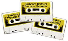 Burnham Brothers Hand Squeak Mixed With Fox Growls Cassette