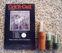 Crit'R Call Magnum Model Predator Call