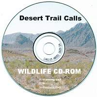 Desert Trail Calls Turkey Gobbling Audio CD