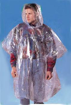 South Bend Reusable Sport Poncho - Clear