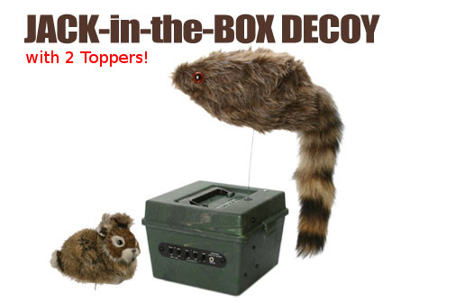 FOXPRO Jack-in-the-Box Decoy
