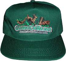 GameCalls.net Classic Green Logo Hat