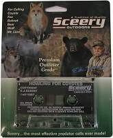 Sceery Howling For Coyotes Audio Cassette