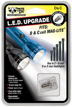 Nite Ize C & D Cell LED Conversion Bulb