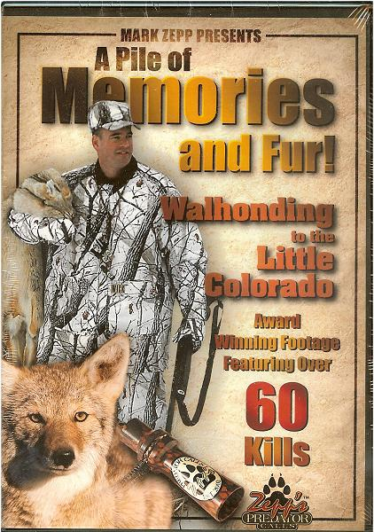 Mark Zepp - A Pile of Memories and Fur! DVD