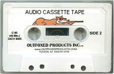 Outfoxed Products Coyote Crunch Time Audio Cassette