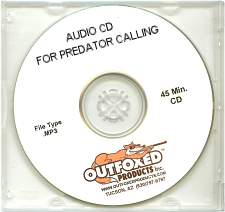 Outfoxed Products Coyote Crunch Time Audio CD