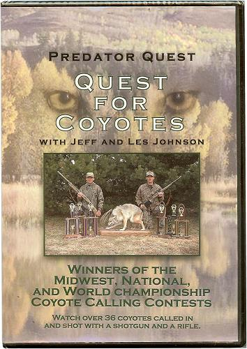 Predator Quest - Quest For Coyotes DVD
