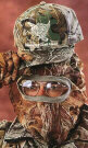 Quaker Boy Bandit Facemask Mossy Oak Breakup Camo Pattern.
