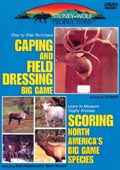 Caping & Field Dressing Big Game/Scoring Big Game DVD