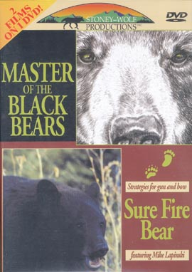 Master of Black Bears-Sure Fire Bear 2 Feature DVD