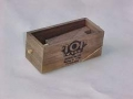 Top Calls Walnut Push Button Box Call