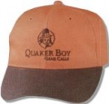 Quaker Boy Logo Hat - Blaze Orange